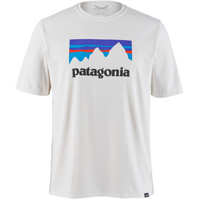 Patagonia Cap Cool Daily Graphic T-Shirt Homme, shop sticker/white